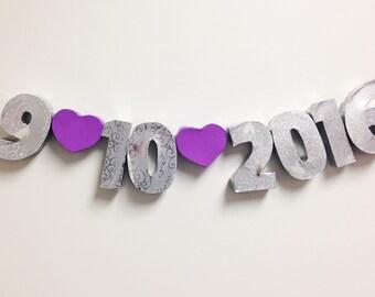 3D Numbers- dates/anniversaries