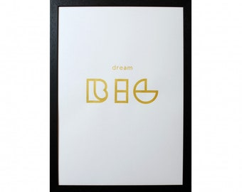 Screen print limited edition. A3 Wooden frame