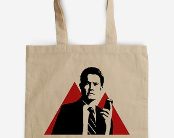 Tote bag Tribute to Twin Peaks - Cooper's Agent - David Lynch