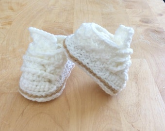 High Top Baby Booties