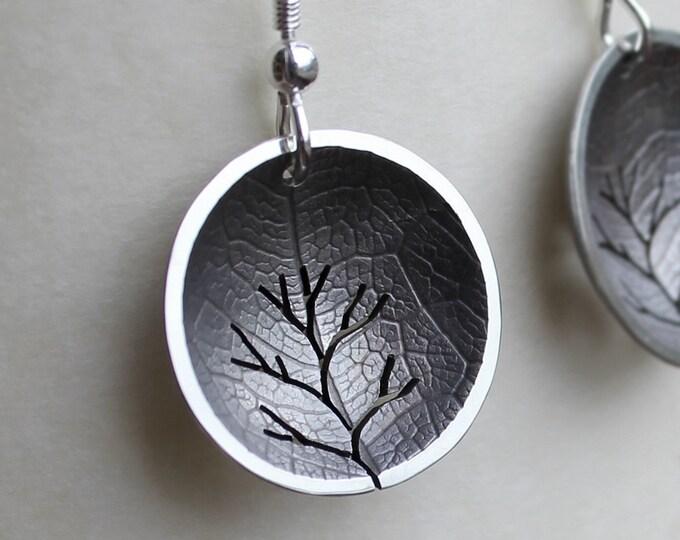 Silver Jewelry, Silver Jewellery, Silver Earrings, Tree Earrings.