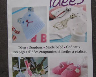 "Little book ""guide hobby ideas MOM"" baby - easy to make"