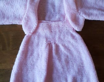 Dress and bolero set size 3 months