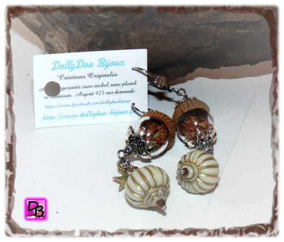 Boucles d'oreilles [Dangled Globes]