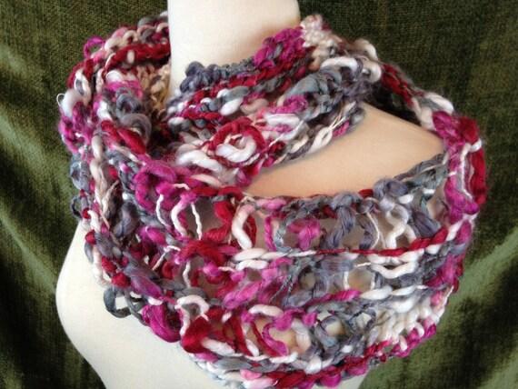 Loom Knit Infinity Scarf Pattern