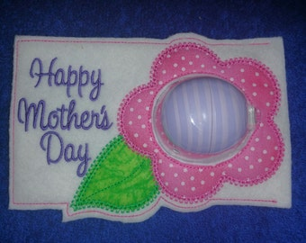 Happy Mother's Day EOS Lip Balm Holder Card