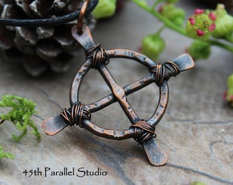 Mens copper etsy rustic celtic cross necklace mens necklace celtic jewelry christian jewelry copper necklace mens copper necklace leather cord cross aloadofball Image collections