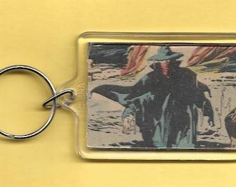 DC Comics The Shadow Plastic Keychain
