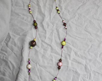 """Bright necklace """"All in magic beads"""""""