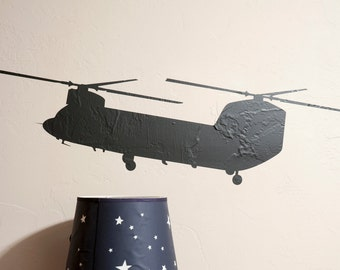 Chinook Helicopter - Wall Decal