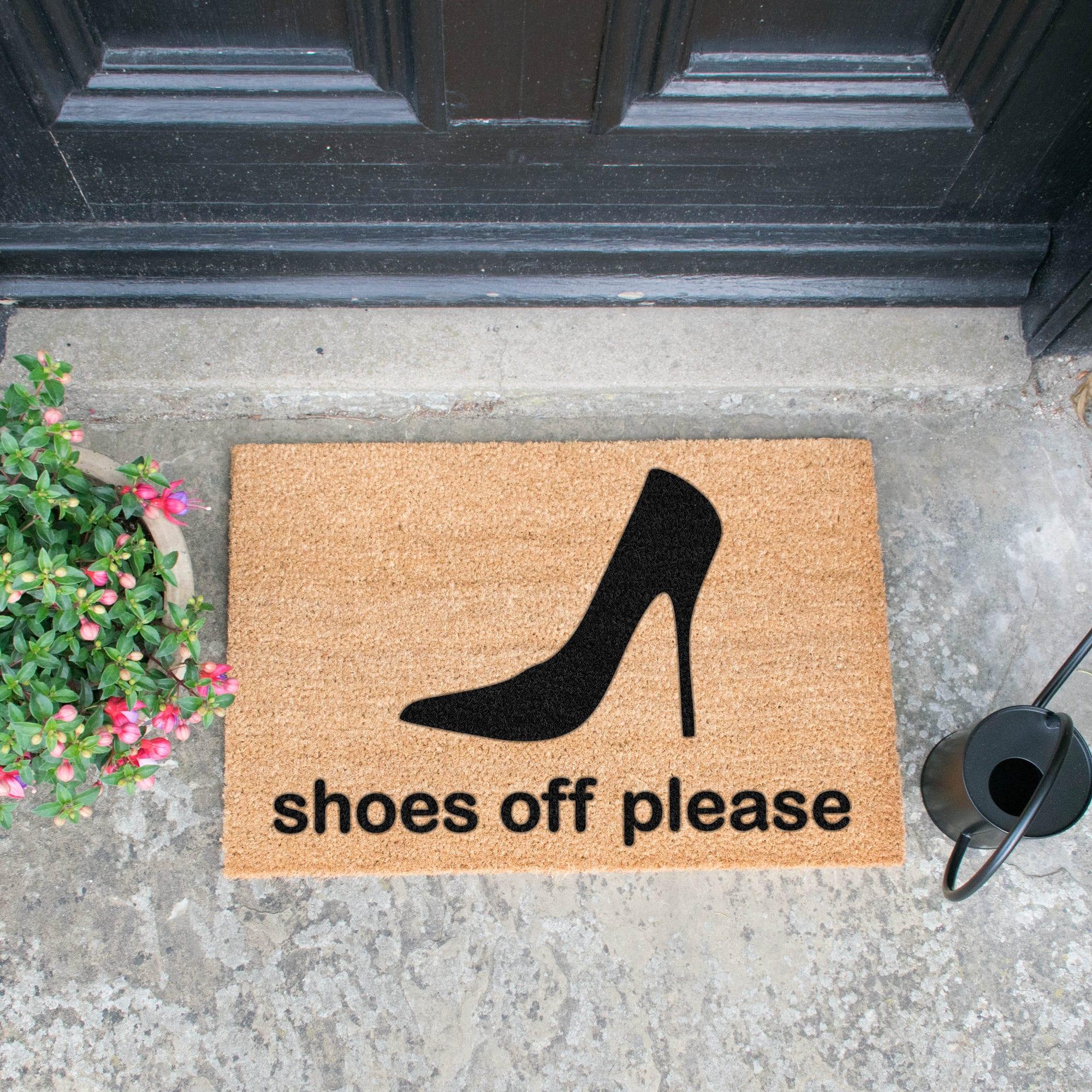 Shoes Off Doormat Uk