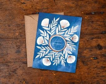 Set of Six Foil Stamped Cards