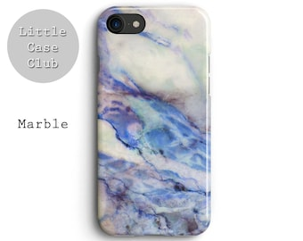 Marble blue ocean print iPhone 8 case, iPhone 7 Plus case, iPhone 6s case, iPhone 6 plus case, iPhone X case, cover , Blogger, gift for her