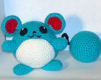 Marill Crochet Plush