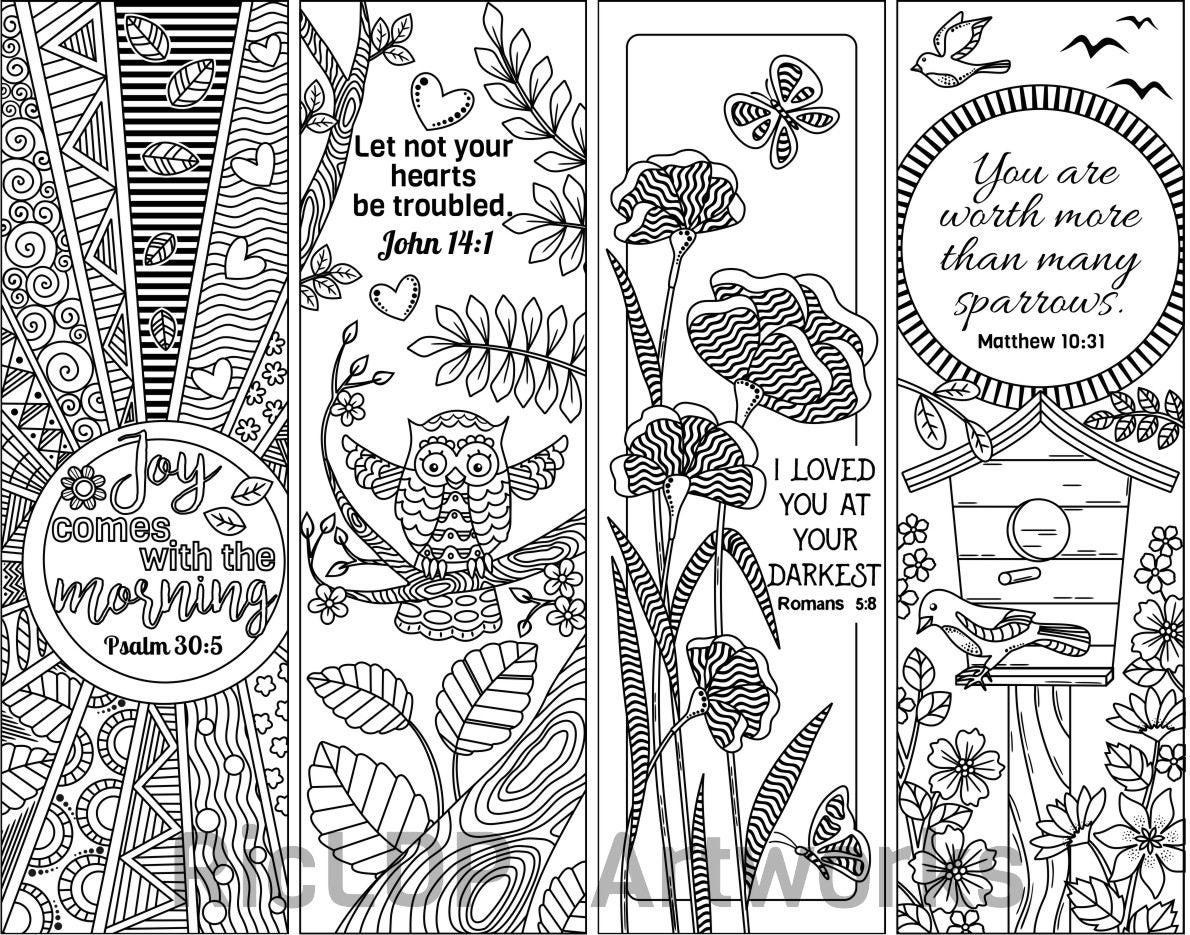 Verso 8 para imprimir Biblia para colorear favoritos