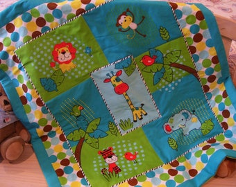 Child's Quilted Blanket