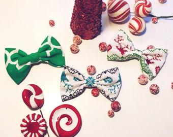 Holiday hair bows!!