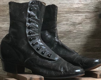 Edwardian Child Button Up Boots