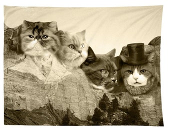 Meowmore, Cat Mount Rushmore, Tapestry
