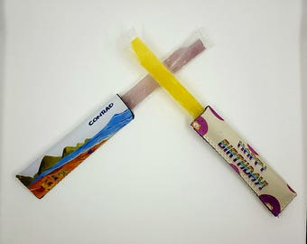 Full Color Popsicle Sleeves - Personalized Popsicle Holder - Popsicle Holder - Popsicle Sleeve - Birthday Favors - Easter Gift