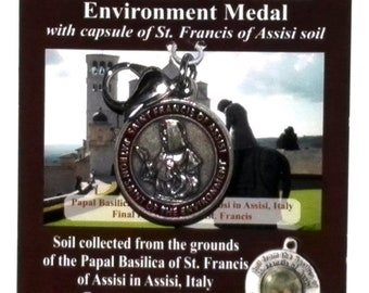 Francis of Assisi Environment Medal