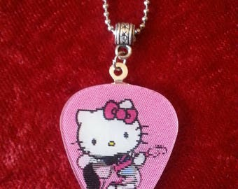 Hello Kitty necklace.