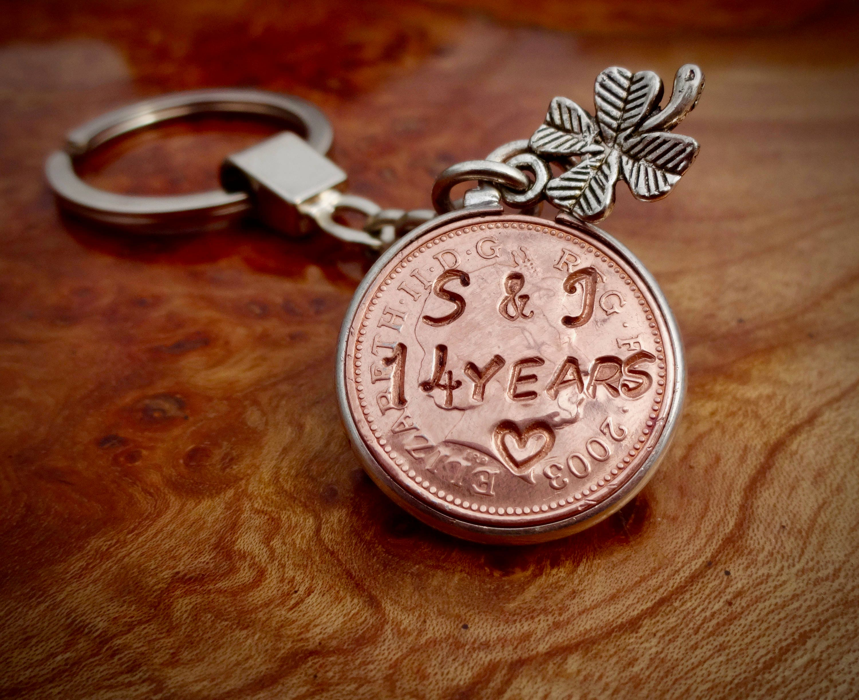 Gift Ideas For 14th Wedding Anniversary: 14th Lucky Penny Wedding Anniversary Gift 2003 Penny