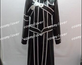 Sword Art Online Kirito Custom Made Cosplay Costume