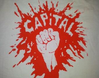 CAPITAL fist May 68 t-shirt
