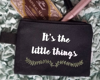 Makeup Bag- It's the Little Things
