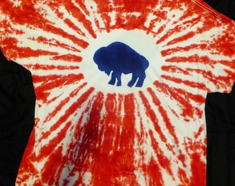 Red White and Blue Buffalo