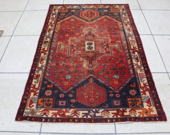 "4 x 6 area rug, living room rug, bedroom rug, 4x6 kitchen rug. Size: 126 cm x 194 cm, 4'2"" x 6'4"""