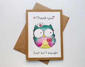 Owl Nurse You Back to Health