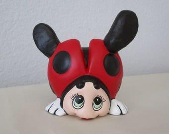 Ceramic Lady Bug