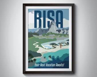 Star Trek Travel Poster: Risa | Instant Download