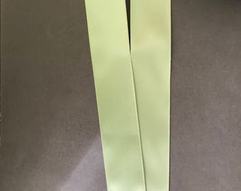 """2yds 1 1/2"""" Spring Moss Double Faced Satin Ribbon"""