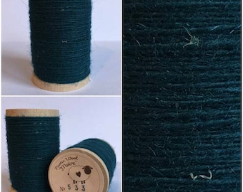 Rustic Moire Wool Thread #533 for Embroidery, Wool Applique and Punch Needle Embroidery