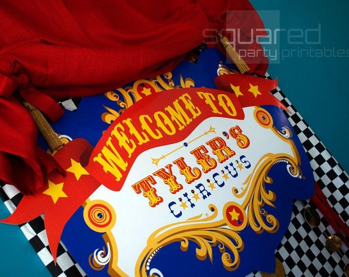 Vintage Circus Carnival