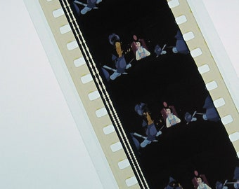 Beauty and the Beast Bookmark - Recycled 35mm Film