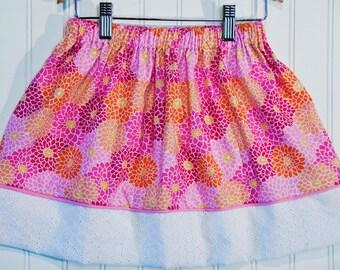 Summertime Banner Skirt (Size Large)