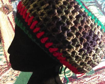 MEGA Crowned Rasta Hat/Tam - Many Colors!