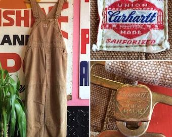 Vintage 1950s Rare Carhartt Overalls