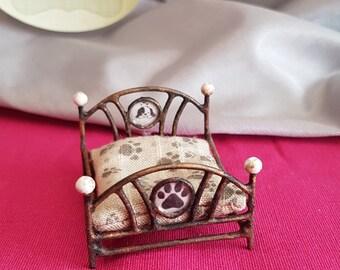 Nice miniature dog bed