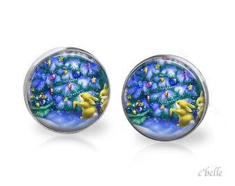 Christmas Earrings Winter-75