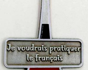 French Conversation Starter Pin