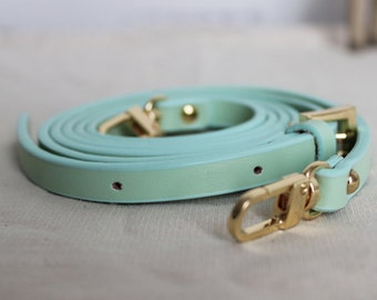 Mint Leather Purse Strap Replacement