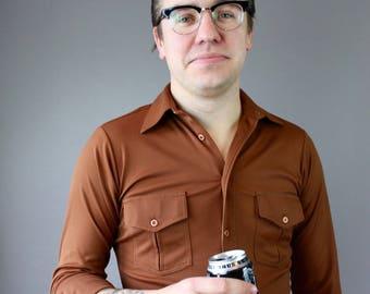 Men's Vintage Button Down Shirt