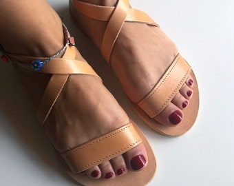 Women's Sandals, Greek Leather Sandals, Strappy Sandals, Roman Sandals, Ancient Sandals, Handmade Sandals, Greek Sandals, Made in Greece