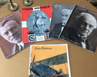 Vore Herrer, 1919, 1900s, retro magazine, vintage, original, 20s, fashion, mens wear