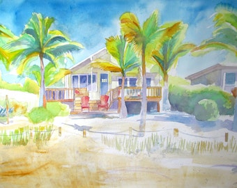 The Yellow Beach Cottage